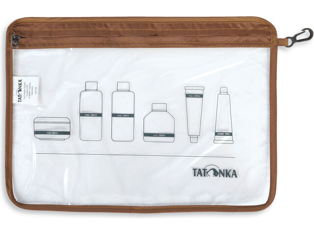 Tatonka Zip Flightbag A4, transparent